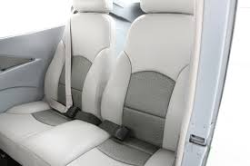 ostrich inset leather interior in a boss 182
