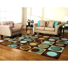 blue round area rugs brown blue round area rug s circle tan and rugs slate blue