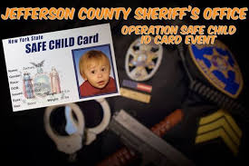 Cards Id Run Child Salmon Mall At Operation York Safe New