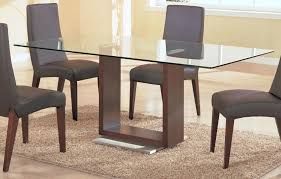 wood tables with glass tops glass top dining tables with wood base wood base for dining