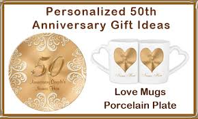 50th anniversary gifts for couples