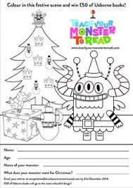 teach your monster to read colouring peion find this pin and more on usborne