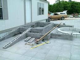 driveway ramp diy how to build concrete idea for cement pour want deck at door level driveway ramp diy