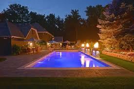 lighted pool deck prestige pools st paul mn