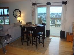 double glass doors combined with white curtains plus black color on the top and bottom placed