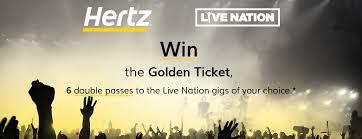 The Hertz Golden Ticket