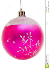 Christmas Pink Ball Royalty Free Stock Photos - Image: 6931278