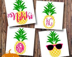 pineapple with sunglasses clipart. pineapple monogram/pineapple decal/pineapple yeti/summer sunglasses/monogram with sunglasses clipart s