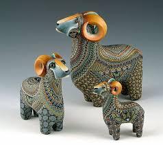 <b>Керамические</b> животные от Jon Anderson (с изображениями ...