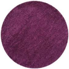 california purple 4 ft x 4 ft round area rug