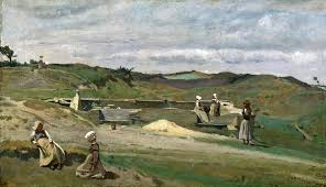 jean baptiste camille corot wall côtes du nord brittany