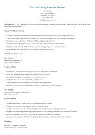 Resume For Secretaries Legal Secretary Examples Sample Assistant 7 ...