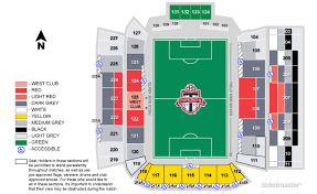 Bmo Field Detailed Seating Chart Logical Bmo Field Seating Chart Seat Number Row Seat Number