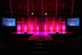 studiotak high gloss black stage floor for wella awards event