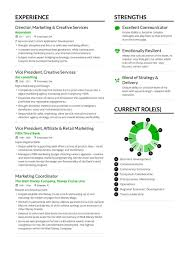 Creative Marketing Resume Marketing Resume Example And Guide For 2019