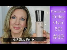 foundation friday over 50 no7 stay perfect