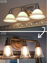 interesting bathroom light fixtures. bathroom lighting, you can paint lights vanity light shades diy design: interesting fixtures u