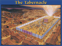 The Tabernacle Laminated Chart