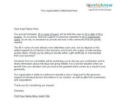 Non Profit Donation Letter Template Fundraising Request Letter Template