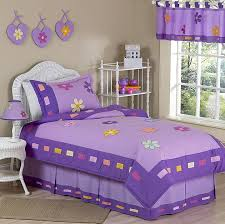 danielle s daisies purple childrens bedding 3pc full queen set only 119 99