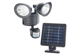 solar powered motion sensing security light super bright led outdoor