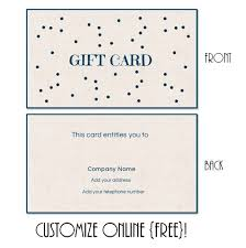 Make Your Own Gift Certificate Templates Free Gift Certificate Templates To Make Your Own Certificates