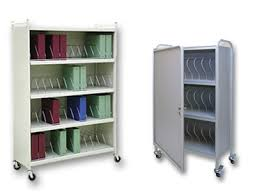 Mobile Chart Racks Binder Storage Carts Charts Carts