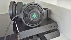 Razer kraken 7.1 - do they work on PS4 - best headphones - YouTube