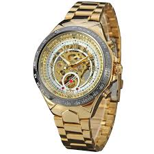 compare prices on winner gold self winding watches men online popular hot mechanical brand gold wristwatches fashion men automatic self wind watch luxury casual winner relogio
