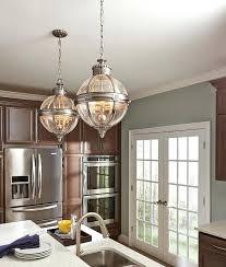 nickel orb chandelier brushed nickel crystal orb 6 light chandelier