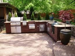 Outdoor Kitchen Countertops Diy Outdoor Kitchen Countertops Home Design Ideas