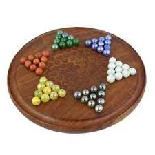Wooden Game With Marbles Jumbo Chinese Checkers Wooden Board Game with Marbles Group Games 13