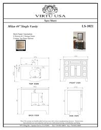 Bathroom Vanities Height Bathroom Vanity Sizes Chart Stainless Steel Paper Towel Dispenser
