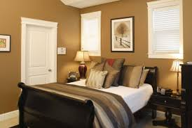 Contemporary Warm Brown Bedroom Colors D Throughout Beautiful Design
