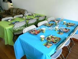 disposable table cloths plastic table cover plastic table cover round tablecloth party decorations table cloth kids disposable table cloths