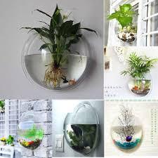 Image is loading INDOOR-OUTDOOR-GARDEN-WALL-MOUNTED-PLASTIC-PLANT-POT-