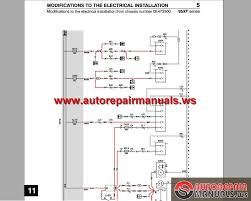 DAF_95_XF_Electrical_Wiring_Diagram4 daf 95 xf electrical wiring diagram auto repair manual forum on daf xf 95 wiring diagram