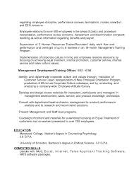 Sales Employee Relation Resume Finance Director Resume Non Profit