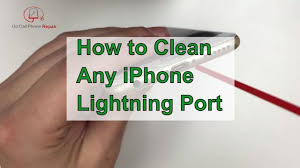 I've tried to turn my phone off and then back on, and turning it off completely for the while charging period and it is still charging at. How To Clean An Iphone Charging Port Youtube