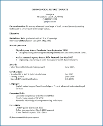 Resume Sample Doc Impressive Canadian Resume Template Resume Sample Canadian Cv Template Doc