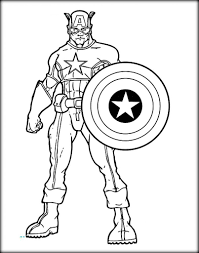 Small Picture Printable Coloring Pages Avengers