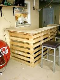 wood pallets furniture. pallet bar 30 best picket diy ideas for your home wood pallets furniture