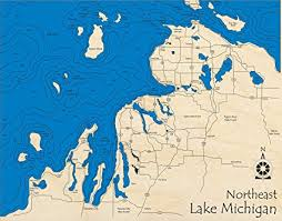 Amazon Com Lake Michigan Northeast Great Lakes Gl