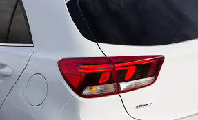 2018 kia rio sport.  2018 2018 kia rio hatchback white exterior view taillight photo 8 of 49 in kia rio sport