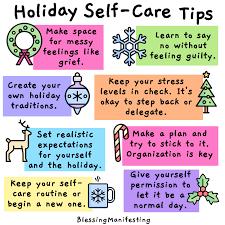 8 <b>Holiday</b> Self-Care Tips - <b>Blessing</b> Manifesting