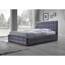 baxton studio margaret modern and contemporary grey velvet button