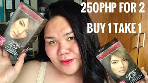 Kolours Hair Color Chart Philippines Coloring My Hair Diy Hair Coloring Kolours In Chestnut Brown Review Nikki Barroca