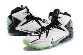 lebron white shoes. choose comfortable latest style nike casual zx/fmi\u0026xccb shoes lebron 12 all star white black green limited offer mens lebron l