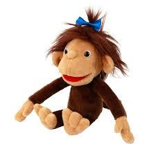 Мягкие игрушки обезьянка