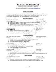 Resume Samples Uva Career C Myenvoc